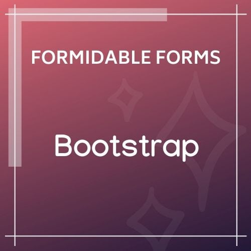 Formidable Forms Bootstrap