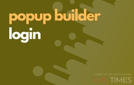 popup build login
