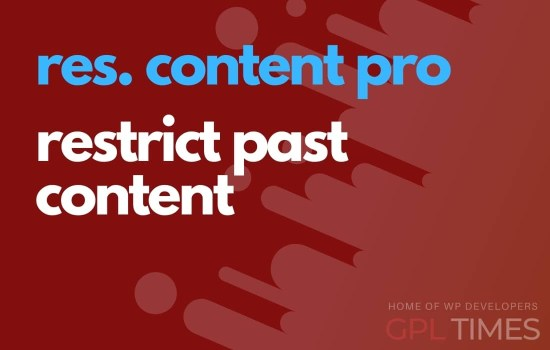 rc pro restrict past content