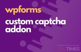 wp forms custom captcha addon