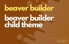beaaver builder child theme