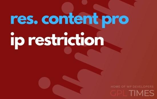 rc pro ip restriction