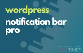 wpress notification bar pro