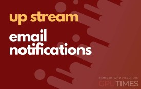up stream email notifications
