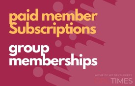 paid member group memberships