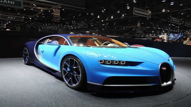 The advantages of the luxury Bugatti Chiron everyone should know