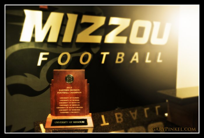 Mizzou 2013 SEC East Division Trophy