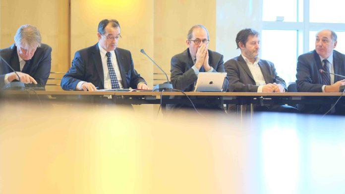 Conférence de presse de Paris Métropole le 13 décembre 2013