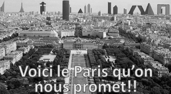 Image tract de l'association SOS Paris