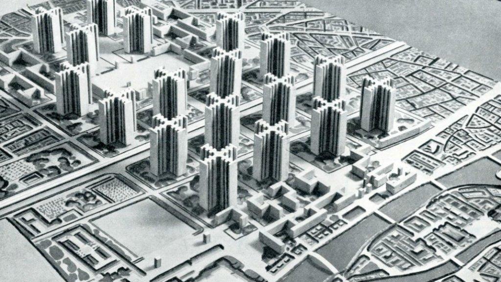 Le Corbusier et son projet pour Paris | Grand Paris Métropole