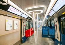 Intérieur rame Grand Paris Express