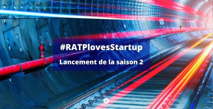 Visuel RATP loves startup