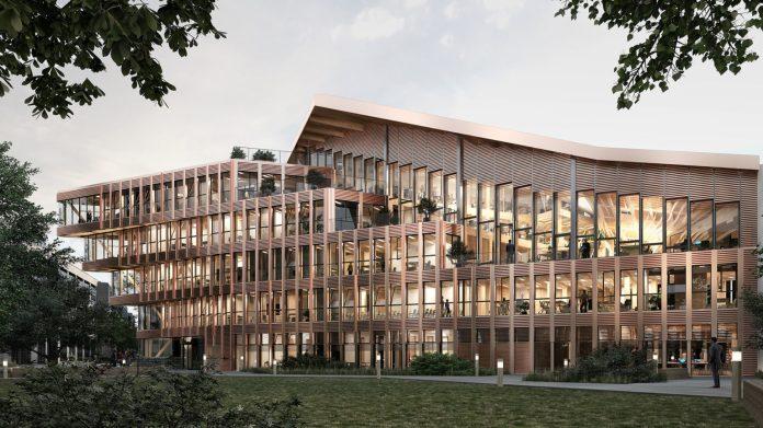 Futur siège de l'ONF à Maisons-Alfort - Crédit : VLAU et WOA