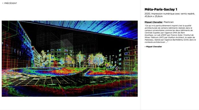 Image du site de l'exposition Paris Saclay Paysages