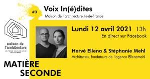 Voix In(é)dites ● Entretien #12 avec Hervé Ellena et Stéphanie Mehl
