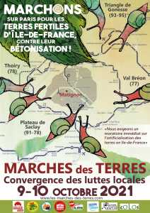 Marches des Terres en Île-de-France