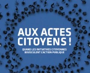 Aux Actes Citoyens ! - Débat de l'Institut Paris Région @ En ligne