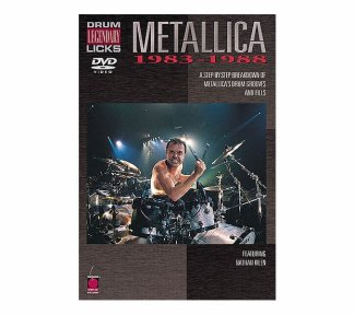 Legendary Drum Licks: Metallica 1983-1988 (DVD)