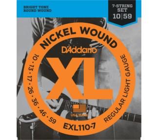 D'Addario - EXL110-7 El. gitar strenger (010-059)