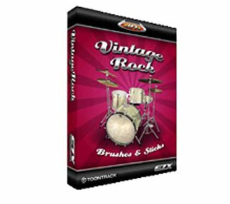 Toontrack - EZX Vintage Rock Brushes And Sticks