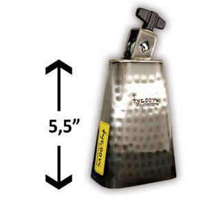 """Tycoon - Kubjelle TWH-55, Hammered Cowbell 5,5"""""""