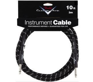 Fender - Custom Shop Performance Cable 3m, Black Tweed