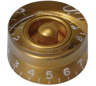 Boston - Transparent Knob, Gold, KG-110