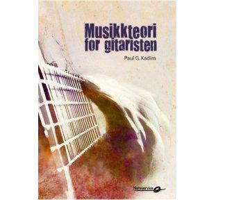 Musikkteori for gitaristen - Paul G. Kadim