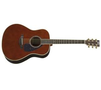 Yamaha - LL6 ARE DT, Akustisk Gitar m/Mikrofon & Koffert