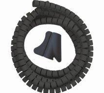 Qbulk Kabelsamler GDS-kit Ø20mm 1,5m sort
