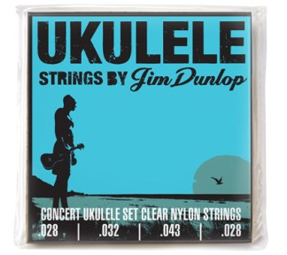 Dunlop - Ukulelestrenger DUY2843 Concert