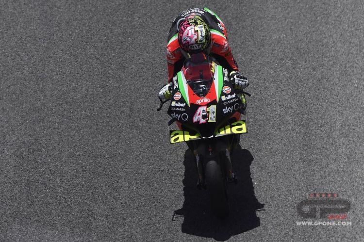 MotoGP, L'Aprilia RS-GP 2021 debutta a Jerez: nuovi telai e motore |  GPone.com