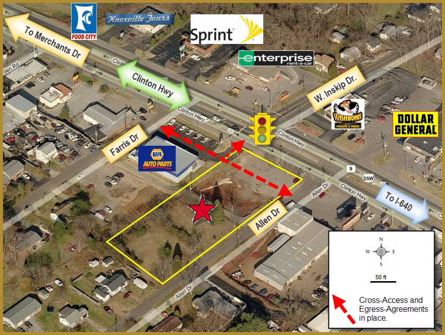 4801ClintonHwy.Aerial.Parcel.Marked