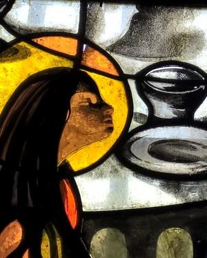 Ste Baume vitrail Marei-Madeleine