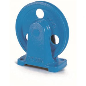 Rope Pulley with Bracket Type 3 WZ for rope dia 3mm to 20mm