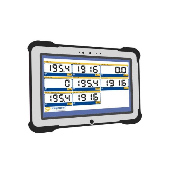 Straightpoint Rugged Windows Tablet For Straightpoint Software