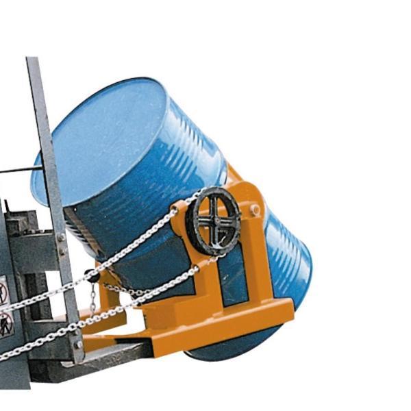 Forklift Drum Rotator- Raptor HK285A – Steel Drums