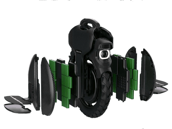 INMOTION V11 Dual Battery
