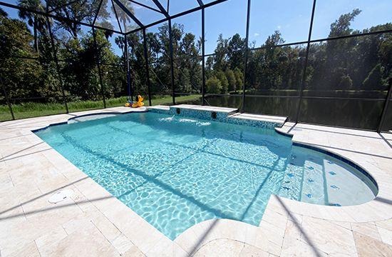 travertine pool decks travertine