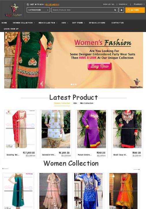 wahfashion jalandhar