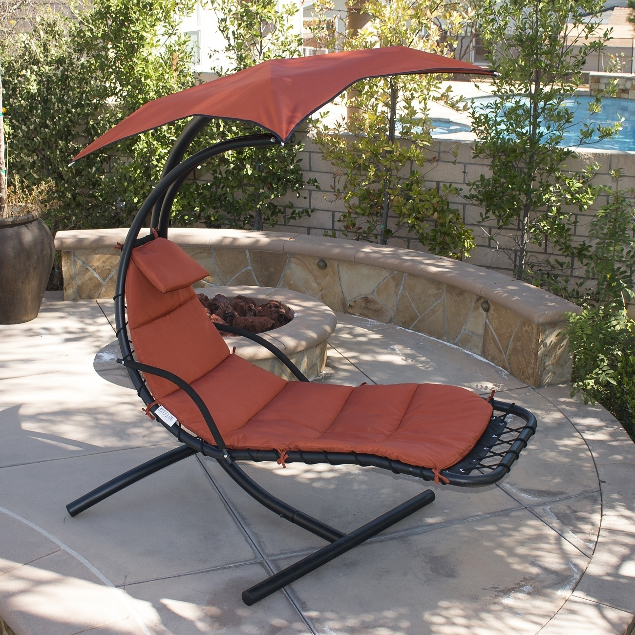 15 Best Ideas Of Chaise Lounge Swing Chairs