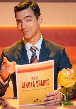Joe Jonas Shares the Forecast in Tanqueray Sevilla Orange Campaign