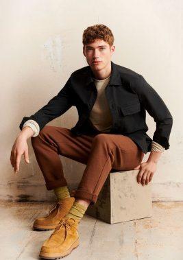 Valentin Humbroich Sports Earthy Tones for Marc O'Polo Fall CampaignFashionistoThe Fashionisto
