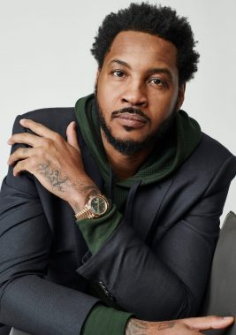 Carmelo Anthony On Growing Up Around Hoopers and Hustlers, Teaming with LeBron, and the 2003 DraftTyler R. TynesGQ