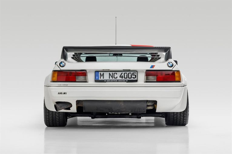 a bmw m1 ahg studie once owned by paul