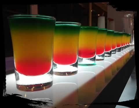 Alcoholic/Non Alcoholic Shooter - Bob Marley