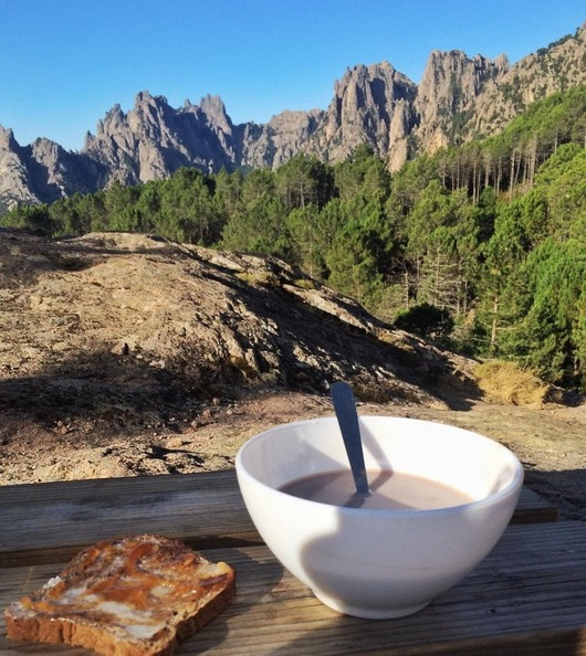 petit dejeuner aiguilles bavella paliri