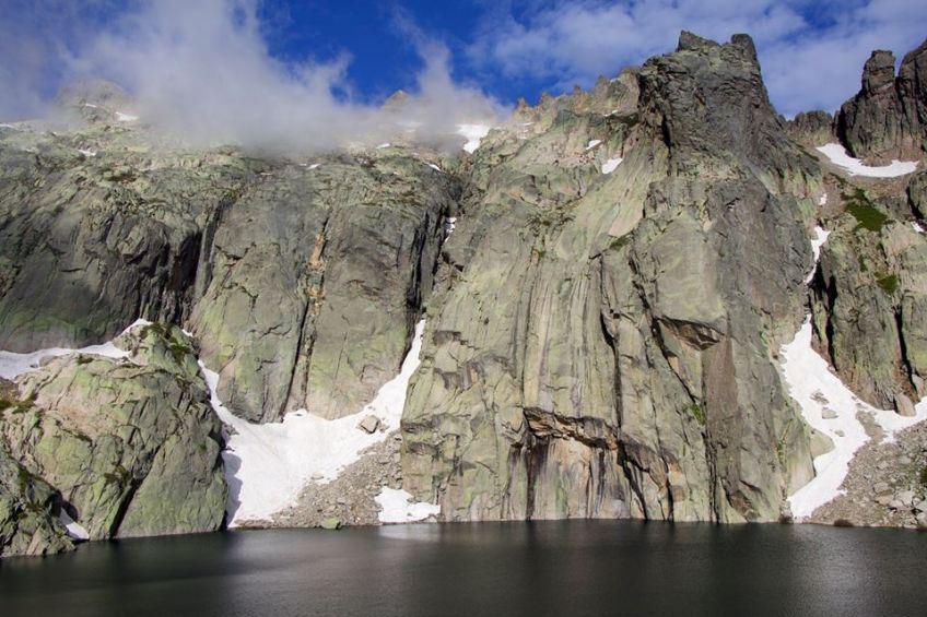 lac d'altitude en Corse