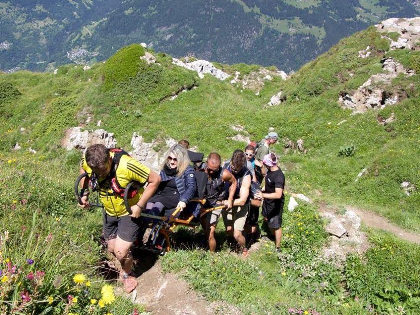 Les Chamois du Bonheur en trail