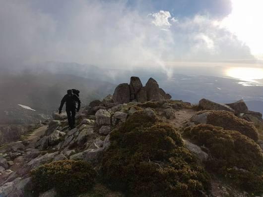 Crêtes du GR20 Corse - mai 2017